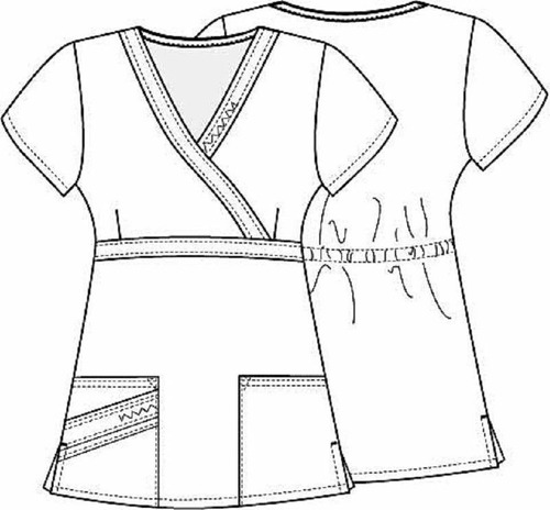 conjunto uniforme médico quirúrgico scrubs dama vino