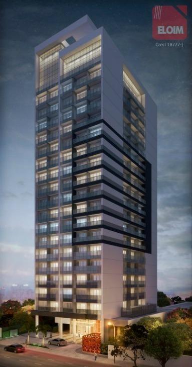conjunto à venda, 32 m² por r$ 515.400,00 - barra funda - são paulo/sp - cj2629