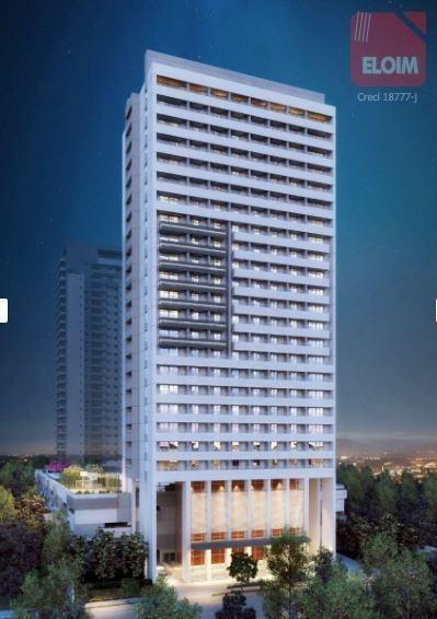 conjunto à venda, 60 m² por r$ 667.300 - barra funda - são paulo/sp - cj2621