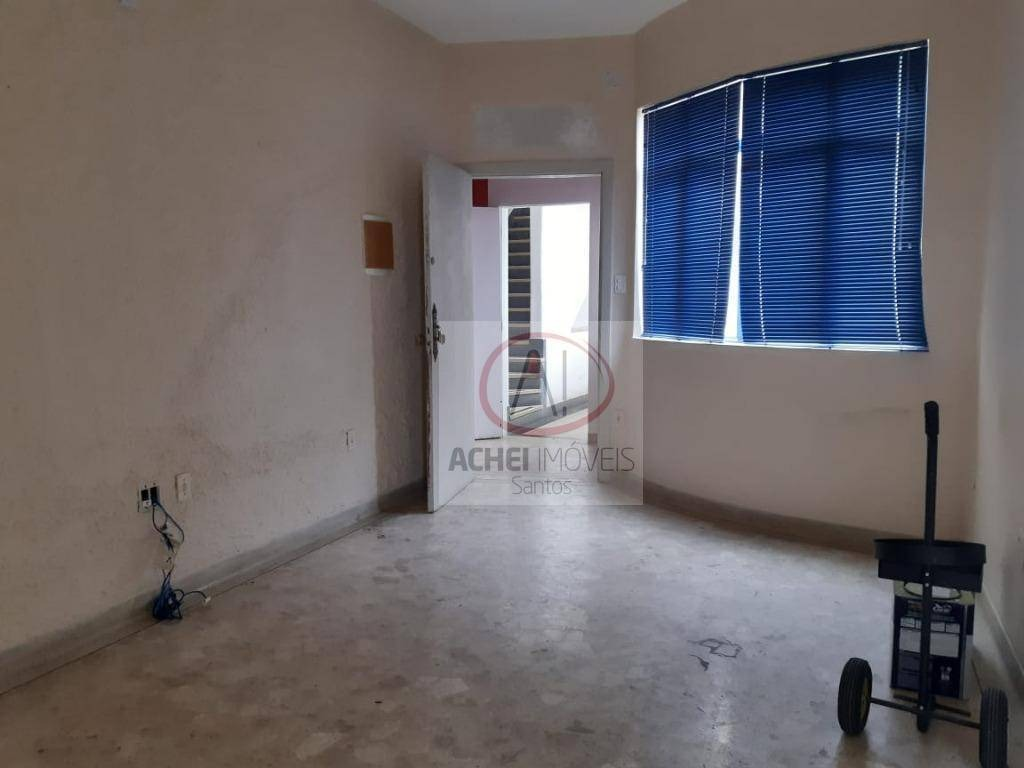 conjunto à venda, 85 m² por r$ 280.000,00 - centro - santos/sp - cj0009