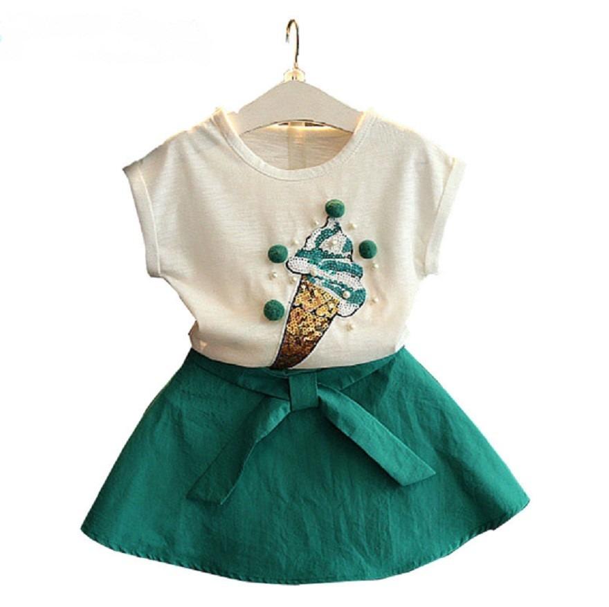 7e4c9f2aff conjunto vestido menina infantil saia e camiseta princesa. Carregando zoom.