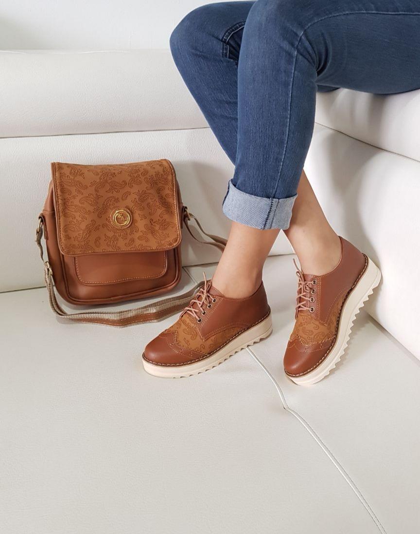 c6898543 Conjunto Zapatos Femeninos + Bolso - $ 130.000 en Mercado Libre