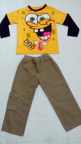 conjunto/ropa de niño  talla 4