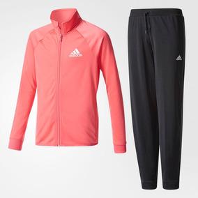 783ed6f27b069 Conjunto Pants adidas Juego Separates Track Rosa 10 Años