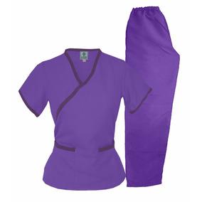 03f7cc7b09c22 Conjunto Dynasty Sport Lila morado Uniforme Médico