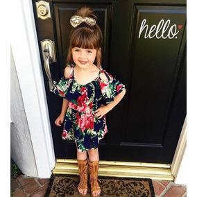 bc6642738 Moda Para Niña Hermoso Vestido Casual Estampado Floral