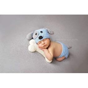 6cbbd8c96786f Gorro Tejido Crochet Perrito - Ropa para Bebés en Mercado Libre México