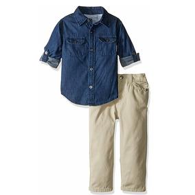 Para Mercado Ropa Mezclilla Bebés Camisas Pantalones Lacoste En I7ygYbf6v