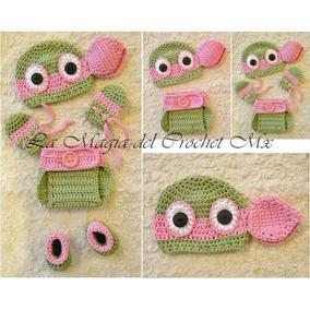 b1eb3ef237a9c Conjunto Tejido Crochet Panalero Gorro - Ropa para Bebés en Mercado ...