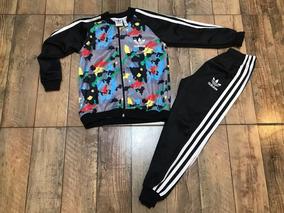 978b58f2b Conjunto Adidas Para Nenas Rosa - Ropa y Accesorios Negro en Mercado ...