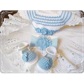 221c5288d Conjunto Com Vestido 3 Peças Para Bebê  pronta Entrega