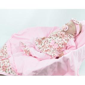 23998e3525448 Saida De Maternidade Menina Bolinhas no Mercado Livre Brasil