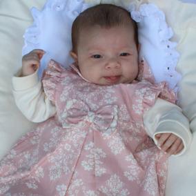 0464704dd Saída De Maternidade Em Lã Cor Salmão - Roupas de Bebê no Mercado ...