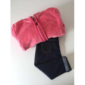 fc830c10ab Conj Blusa Plush Com Capuz Zara E Calça Zara
