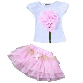 2784ebc66 Precioso Tutu Tul Y Raso Bordado Para Ballet Rosado Completo - Ropa ...
