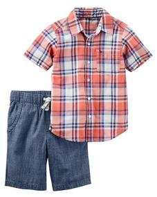 d7669271a Camisas Carters Para Ninos - Ropa, Zapatos y Accesorios en Mercado ...