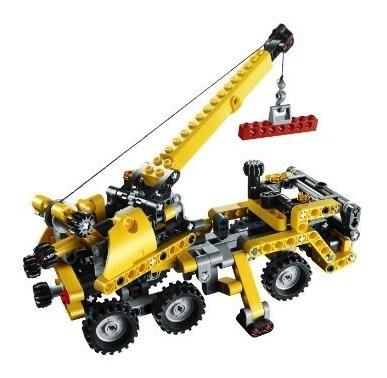 conjuntos de construcción,juguete lego technic mini grúa..
