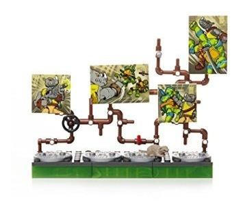 conjuntos de construcción,juguete mega bloks tortugas ni..