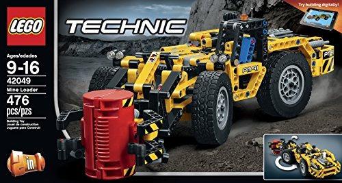 conjuntos de construcción,lego technic mina cargador kit..