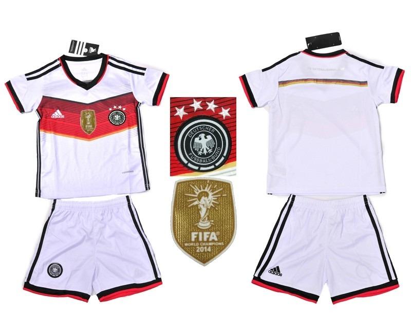 8a20d7d961 Conjuntos De Futebol Infantil Seleções Alemanha T Europeus - R  155 ...