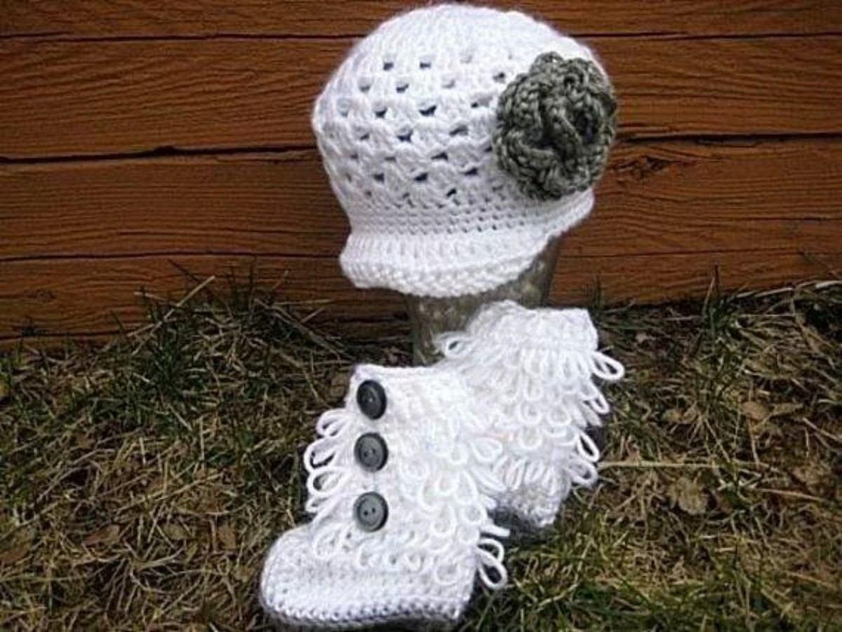 Atractivo Gorrita Patrón De Crochet Libre Patrón - Ideas de Patrones ...