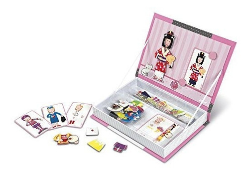 conjuntos de janod magnetibook para niña