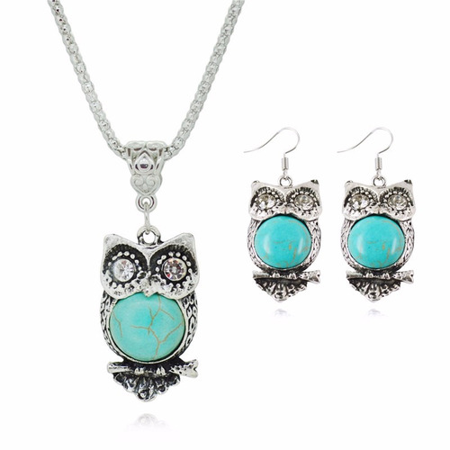 conjuntos de jóias corujapara  festas