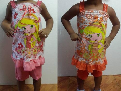 conjuntos de niñas 2 a 4 años altura modelo 96cm peso 13kg