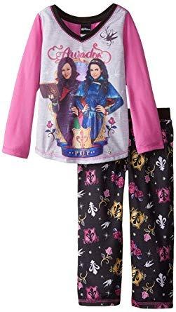 conjuntos de pijamas,descendientes de las niñas 'auradon..