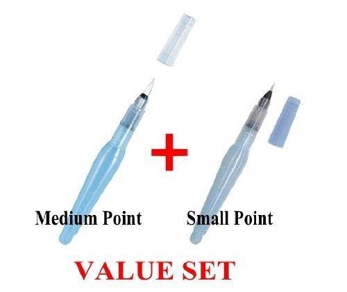 conjuntos de pincel,pentel - aquash water brush medium p..