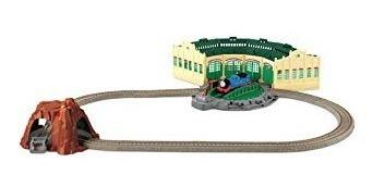 conjuntos de trenes,juguete thomas el tren galpones tidm..