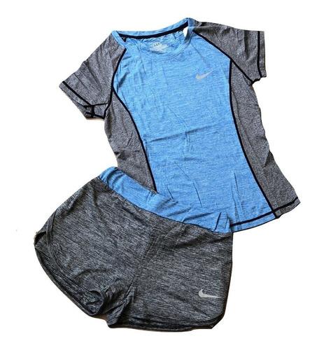 conjuntos deportivos nike y adidas dama short - camiseta