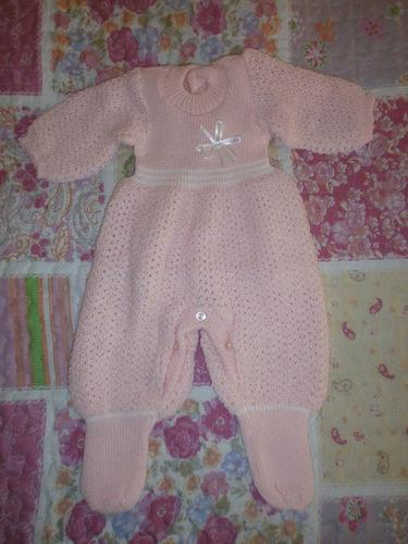 conjuntos en lana para bebe.vestido,pelele jardineros,batas