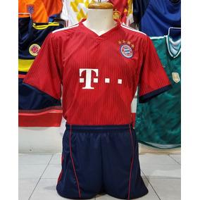 5eb9925082488 10 Uniformes De Futbol Bayern Munich Local 2019 Dri-fit