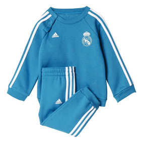 e0d7fd0ffeaef Conjunto Pants Real Madrid Bebé Niño Pequeño adidas 2018