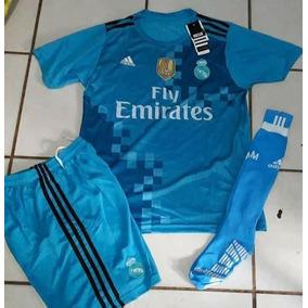 3d1c9cb6ba38f Uniformes De Futbol Economicos Completos Real Madrid Azul