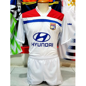 a300e85788d90 10 Uniformes De Futbol Calidad Dri-fit Lyon Local 2019