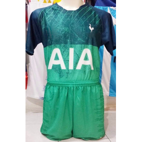 042714430cbb4 10 Uniformes De Futbol Tottenham Visita 2019 Dri-fit