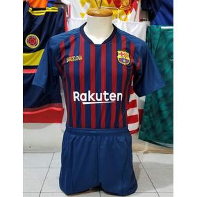 0ffa3fe839106 10 Uniformes De Futbol Calidad Dri-fit Barcelona Local 2019