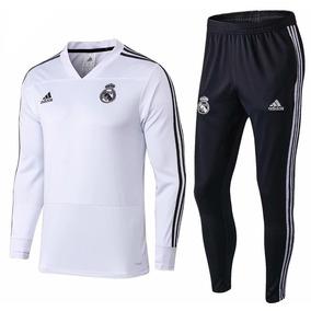 2b88b8ff87ab8 Pantalon Chupin Adidas Real Madrid - Indumentaria en Mercado Libre ...