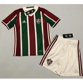 fd7644059a347 Kit Infantil Adidas Fluminense - Futebol no Mercado Livre Brasil