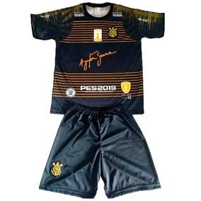 2fd2a66973ae3 Uniforme Infantil Corinthians - Futebol no Mercado Livre Brasil