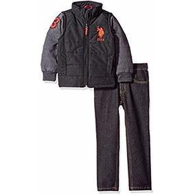 6f7de1dbafaa9 Casaco E Calça Jeans Infantil Polo Ralph Lauren - Original