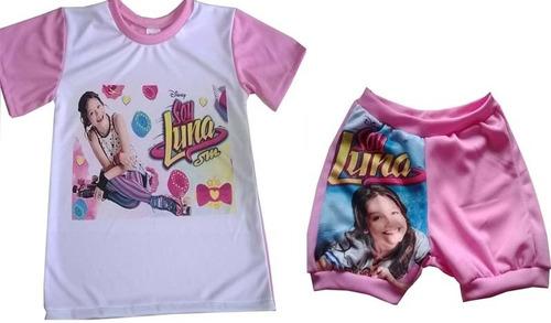 conjuntos, leggins y camisas para niñas soy luna