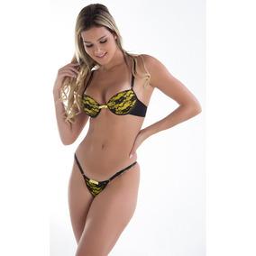 3d5a1aa2053bb Lote 3 Conjunto De Renda Sutiã E Calcinha Lingerie Sexy
