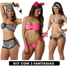 dc4a94f1e Fantasia Erotica Pantera Cor De - Conjuntos de Lingerie no Mercado ...