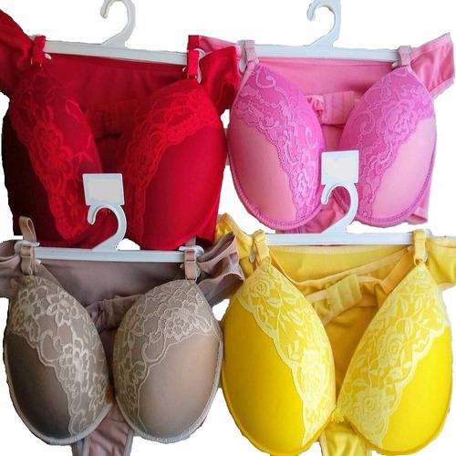 conjuntos lingerie kit /50 conjuntos. atacado