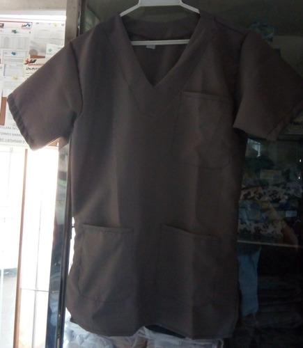 conjuntos medicos quirurgicos uniformes  gabardina gris