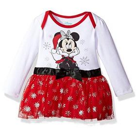 08a8162dfab22 Vestido Niña Minie Navidad Disney Original Importado 6 Meses