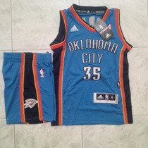Uniformes Camisetas De Basket Nba Niños Okla Lakers Celtics